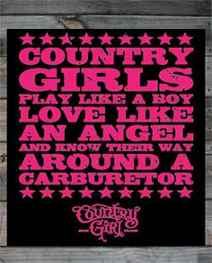 Country Girl Stickers | Country Girl Bumper Stickers | Country Boy Stickers