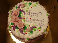 birthday cake for mom pinterest