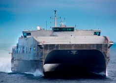 The Navy's first joint high-speed vessel USNS Spearhead (JHSV 1) successfully completed final contract trials, the Navy announced July 25.