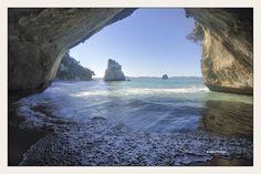 CATHEDRAL COVE-NUEVA ZELANDA.- http://fc-foto.es/35426999