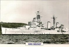 Scan of a data card. Belfast had main armament. Broke her back on a magnetic mine in Nov Was part of the force that sank the Scharnhorst in Became a museum ship in Sail Away, Navy Ships, Royal Navy, Battleship, Belfast, Ww2, Taj Mahal, Sailing, British
