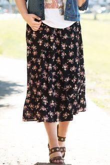 Plus Size - Sara Tiered Skirt