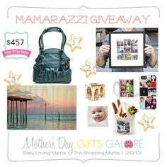 Mamarazzi Giveaway for Picture Happy Mamas | Mother's Day Gifts Galore @Emilie @Kate - The Shopping Mama