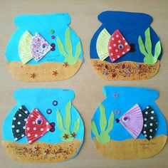 Animal Art Projects For Kids Preschool Crafts For Preschoolers 70 Ideas Kids Crafts, Daycare Crafts, Summer Crafts, Toddler Crafts, Projects For Kids, Arts And Crafts, Paper Crafts, Summer Art Projects, Ocean Crafts