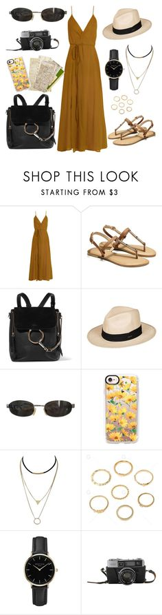 """Exploring new cities "" by eshly995 ❤ liked on Polyvore featuring Loup Charmant, Chloé, Roxy, Casetify and ROSEFIELD"