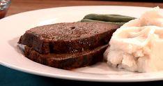 Découvrez cette recette de Pain de viande familial pour 4 personnes, vous adorerez! Lard, Meatloaf, Steak, Pains, Desserts, Tomato Juice, Bread Mould, Dumplings, Suppers