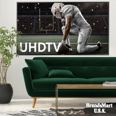 "Samsung 55"" Smart 4K UHD TV - On Sale - Get It for $547.99 on Sale, Plus a Free $25 Gift Card With Purchase - 4K Ultra HD resolution and High Dynamic Range (HDR) content that delivers greater clarity. Access your favorite content quicker and easier with the new Samsung Smart TV platform powered by a Quad-Core Processor. - Samsung - Smart TV - UHD - Ultra HD - 4K - TV - Sale - Televisions - Playoffs - Deals - HDR"