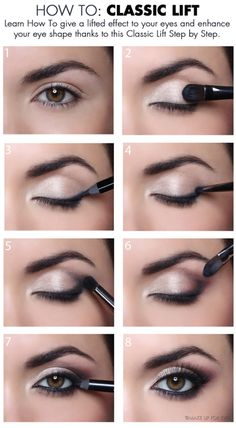 Image result for eyeshadow for droopy eyelids