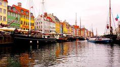 Copenhagen Nyhavn Harbour  www.escapetraveler.com