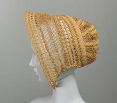 Bonnet American ca. mid-19th Century
