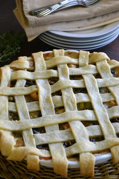 Chicken and Mushroom Pie - The View from Great Island
