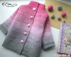 Crochet Kids Sweater Coat Free Patterns: Crochet Girls & Boys Sweaters, Cardigans, shrugs, and more sweater coats with patterns and inspirations. Knitting For Kids, Crochet For Kids, Baby Knitting, Crochet Shoes, Crochet Clothes, Knit Crochet, Crochet Baby Jacket, Knitted Baby Cardigan, Sweater Coats