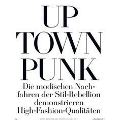 Vogue Germany ❤ liked on Polyvore featuring text, words, quotes, magazine, phrase and saying
