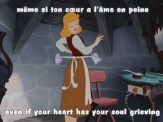 A Dream Is A Wish Your Heart Makes (French) w/ subs & translation - YouTube