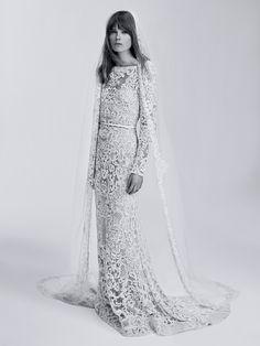 CR Fashion Book - ELIE SAAB UNVEILS BRIDAL LINE