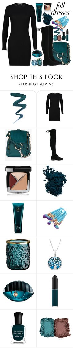 """Fall Fashion"" by johannamaria37 ❤ liked on Polyvore featuring Boohoo, Chloé, Stuart Weitzman, Chanel, Laura Mercier, Space NK, Kenzo, John Lewis, Deborah Lippmann and NARS Cosmetics"