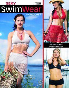 Crochet Swimsuits and bikini patterns in the Sexy SwimWear to Crochet eBook