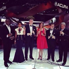 Rhonda Walker with other WDIV Channel 4 News Personalities at the North American International Auto Show 2014 #NAIAS #rwfempowers