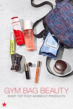 Take your look from hot yoga to Sunday brunch with the perfect collection of post-workout beauty products. From Estee Lauder makeup removing wipes to incredible travel scents from Tory Burch, we have everything you need to keep your gym bag stocked. Click to shop at Macy's.