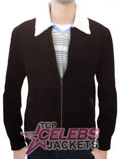 #Amazing Sale Walking Dead Rick Grimes Brown Jacket