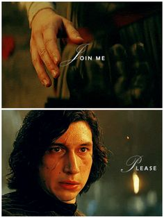 Ben, when we touched hands I saw your future; just the shape of it, but solid and clear. You will not bow before Snoke. You'll turn. I'll help you. I saw it. #star wars #kylo ren #rey #hewentfromsayingicantakewhatiwanttosayingpleaselikehislifedependedonhersayinngyes