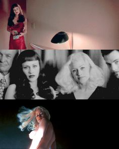 Patricia Arquette in 'Lost Highway' - Marilyn Monroe and Bettie Page alters