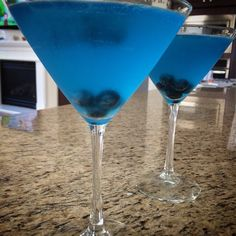 Blueberry Lemondrop Martinis