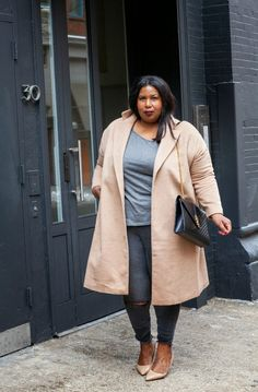 And I Get Dressed: Grey Days and the Outfit to Match by @fashioninsider