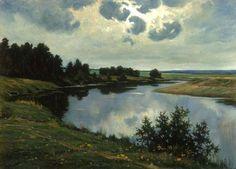 Козорезенко Петр Петрович (младший). Тихая река.  Творческий союз художников России