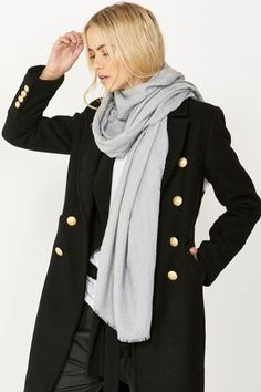 With a balanced range of tran-seasonal wardrobe essentials, shop our must-have bengaline pants, skinny jeans, off the shoulder tops, denim jackets and dresses. Denim Jacket With Dress, Blazer Jacket, Clothing Accessories, Women's Clothing, Off The Shoulder, Raincoat, Scarves, Skinny Jeans, Autumn