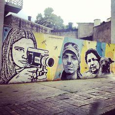 Bogotá, Colombia Street Art (Arte de Calle) 2013 #graffiti