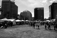 Summer is here and that means time for outdoor activities #festival #florida #orlando #downtown #blackandwhite #fun #sun