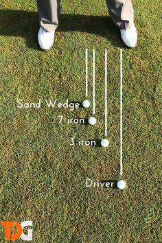 Ball Placement #GolfingTips