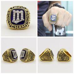 Minnesota Twins MLB World Series Championship Ring #minnesotatwins #MLB #worldseries #baseball #baseballgame #worldserieschamps #worldserieschampions #championshipring #mlbplayoffs #mlbbaseball