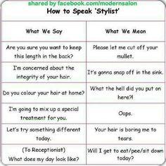 """How to Speak """"Stylist"""" LOL!!"""