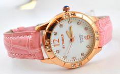 Synoke Pink Ron, Bracelet Watch, Quartz, Display, Sport, Bracelets, Accessories, Fashion, Crystal