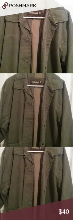 90s Timberland M Vintage 90s Timberland jacket 1 owner only excellent condition M 100% Cotton Timberland Jackets & Coats Utility Jackets