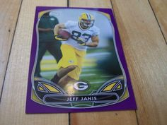 2014-Topps-56-JEFF-JANIS-RC-Purple-Border-Rookie-Parallel-Card-Green-Bay-Packer