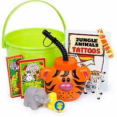 More jungle party favors