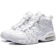 http://www.asneakers4u.com/ Charles Barkley Shoes   Nike Air Max2 CB 94 All White
