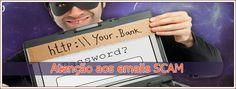Alerta para email com banner de SCAM da LLTConsulting.net - Blog do Cusco