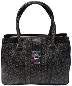 Guess Womens Handbag Perfection Tote BrownNatural   You can get more  details by clicking on the image. aad83ed1091dd