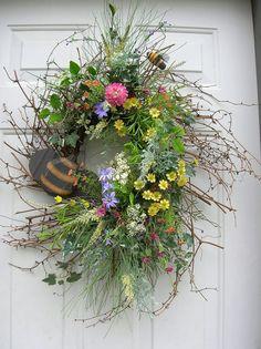 Spring wreath $52.99