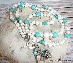 Summer Love Necklace - Inspirational handmade gemstone jewellery Earth Jewel Creations Australia