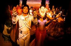 Michael Jackson as Captain EO and Angelica Another as The Supreme Leader