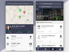 Transportation System App Concept