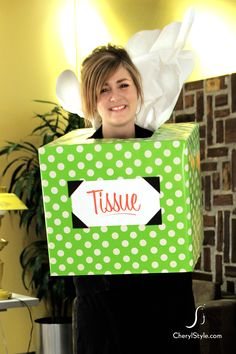 5 hauntingly simple halloween costumes from paper bags and moving boxes diy cherylstyle - Halloween Box Costumes