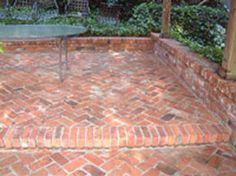 Resultado de imagen de red brick paving patterns