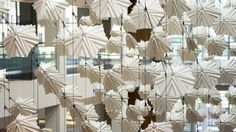 Giant Kinetic Sculpture Mimics Swarm of Flocking Birds | The Creators Project