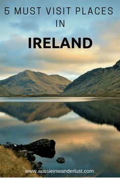 The best places to visit in Ireland to create a road trip to remember. Where to go in Ireland includes Dublin, Galway and the Cliffs of Moher. Find out other Irish places to visit. New Travel, Travel Goals, Travel Europe, Overseas Travel, European Travel, Travel Guides, Travel Tips, Travel Destinations, Travel Advise